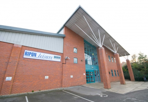 Ripon Leisure  centre refurb date confirmed