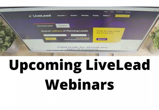 LiveLead Webinars